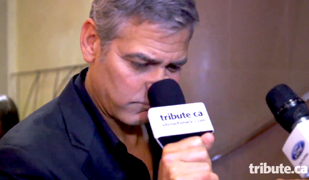 george clooney microphone tribute nicole stamp
